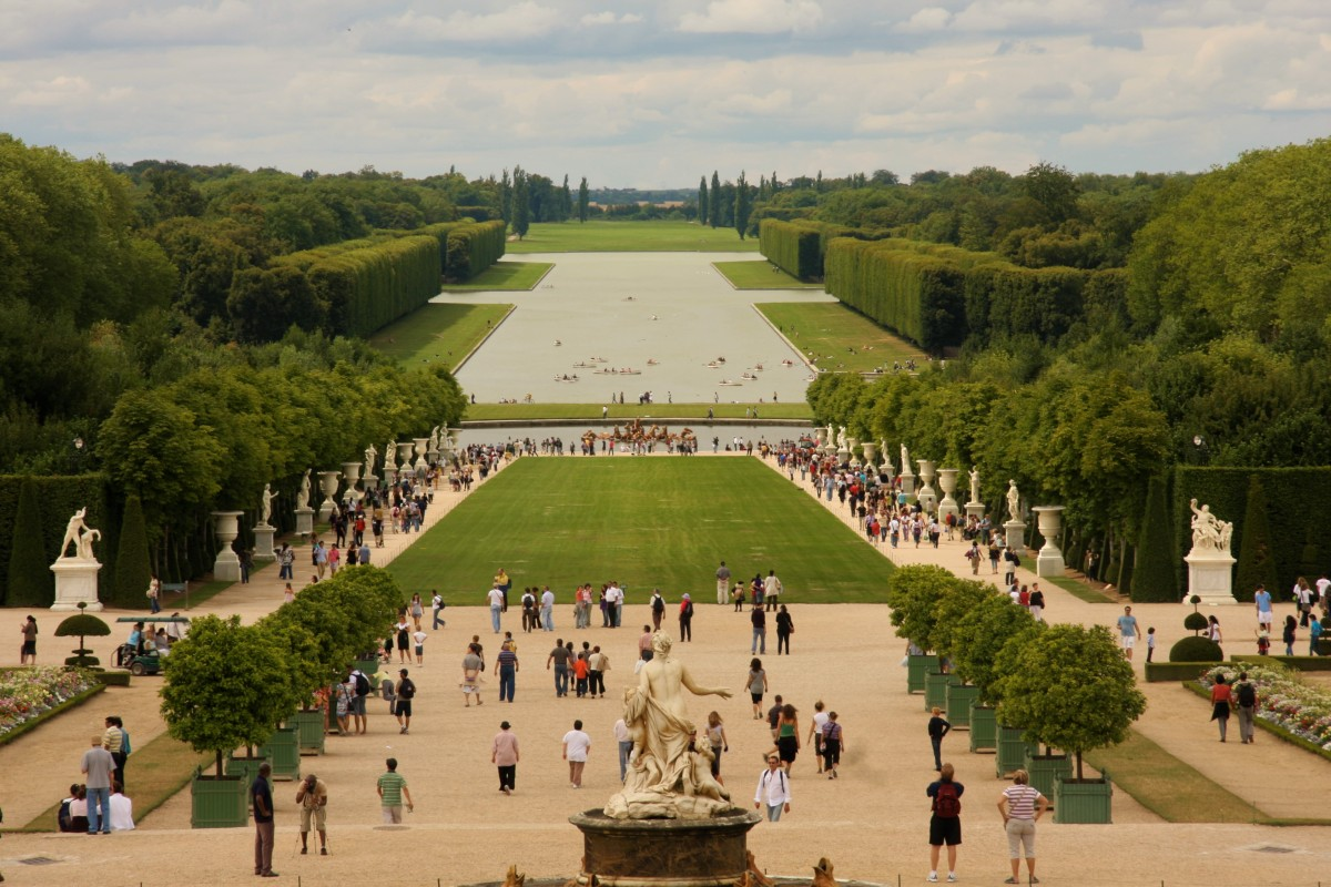 Chateau de Versailles, the Palace of Louis XIV