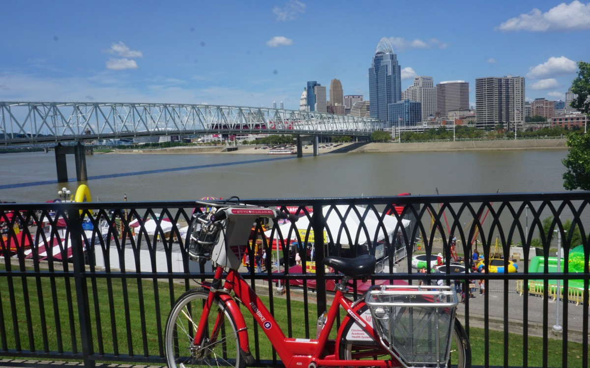 A Birthday Celebration with Outdoor Concert and River Front Cycling