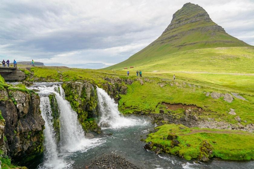 Mt. Kirkjufell and Kirkjufellsfoss