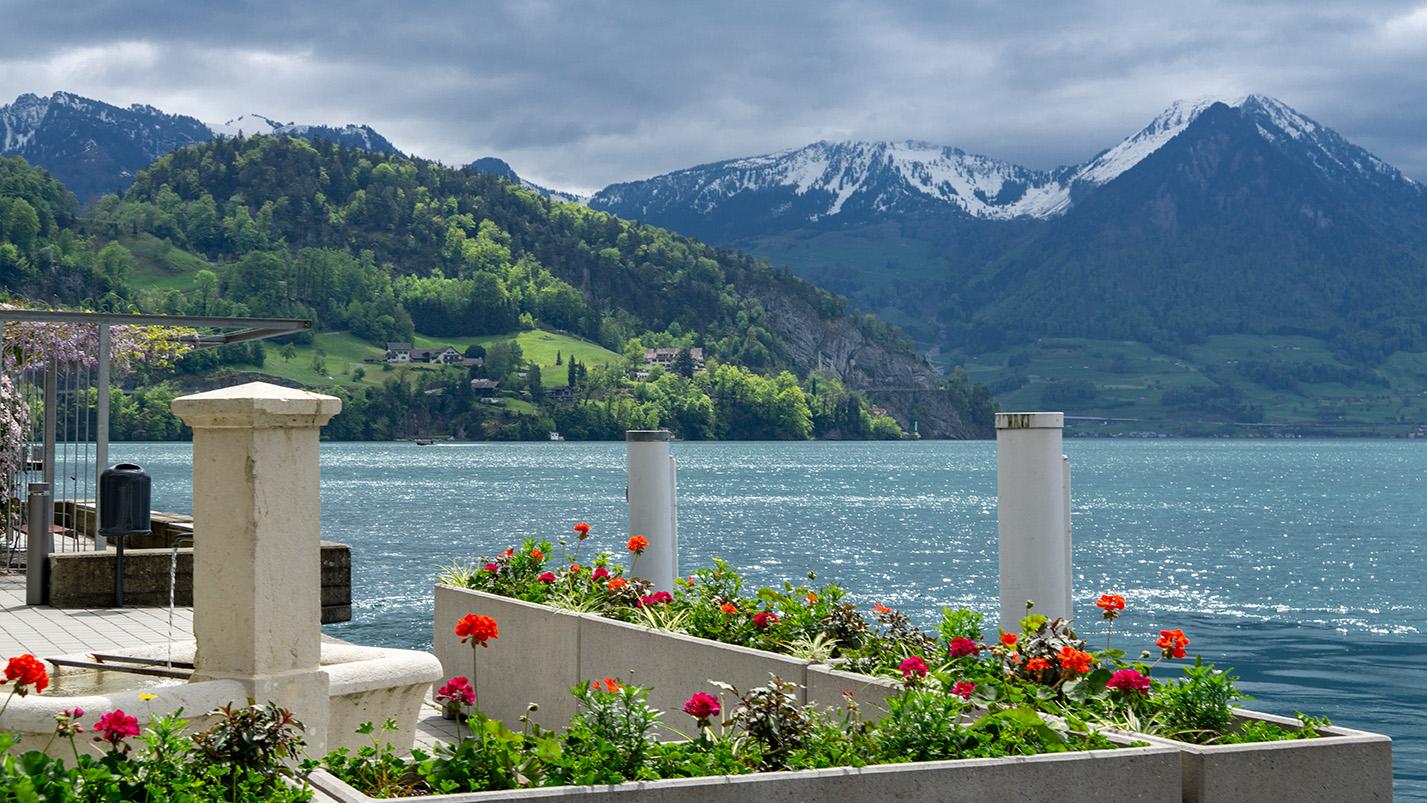 Switzerland (I): Lucerne (Luzern), Lake Lucerne and Mount Rigi