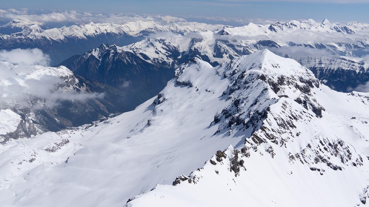 Switzerland (II) Exploring Swiss Alps: Snow-Capped Schilthorn and HeavenlyGimmelwald