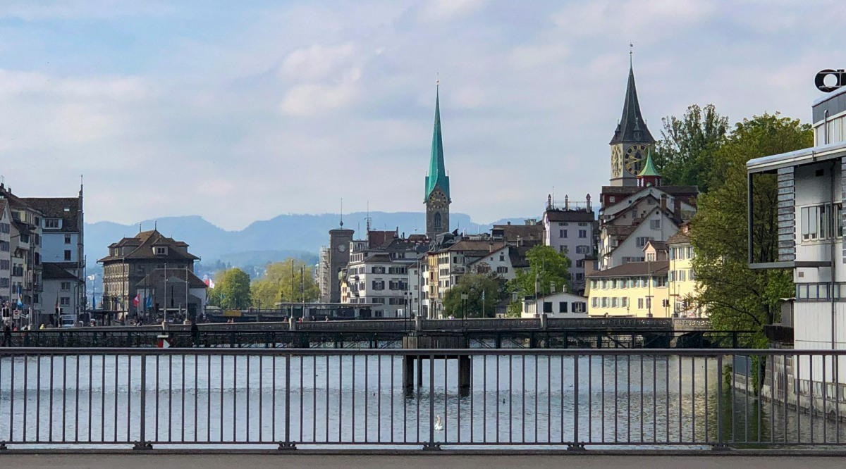 Switzerland (V): Transportation Hub Zurich